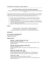 Math Teacher Resume Mesmerizing Math Teacher Resume Sample Math Tutor Resume Excel Template