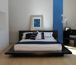 ... Incredible Designing Small Room Paint Colors Perfect Decorating Room  Wooden Base White Colored Pillow ...