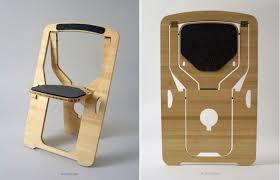 Folding chair.