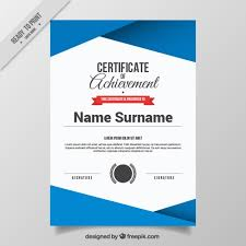 Certificate Background Free Abstract Certificate Template Vector Free Download