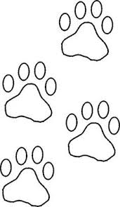 Small Picture Paw Print Clip Art Free Coloring Page Clip Art Images Coloring