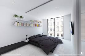 Modern Minimalist Bedroom 6 Perfectly Minimalistic Black And White Interiors