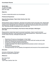Resume Highlights Examples Housekeeper Resume Should Be Able To Contain And Highlight 26