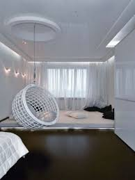 blue hanging chairs for bedrooms. Bedroom:Elegant Half Ball Hanging Chairs For Bedroom Design Ideas With Blue Painted Wall And Bedrooms I