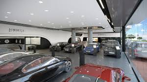 Dealership Showroom Design Interior Design Of Car Retail Dealer In Uae Spazio