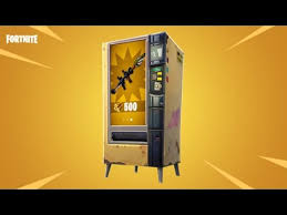 Vending Machine Trailer Unique Fortnite Battle Royale Vending Machine Trailer YouTube