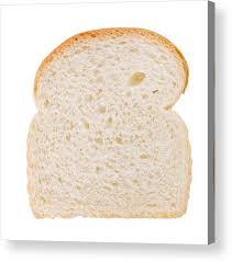 White Bread Slice Acrylic Print By Stockphotosart