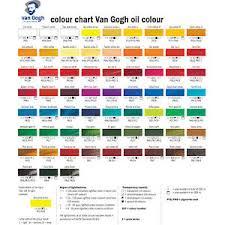 Oil Paint Colour Chart Details About Royal Talens Van Gogh Artists Oil Paint 20ml 60 Colours Available Oil Painting