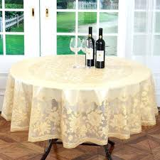 elastic table covers round plastic table covers diameter gold wedding table cloth embossing fl round lace elastic table covers