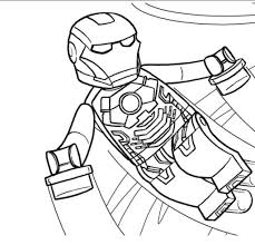 Small Picture Lego Iron Man Coloring Pages Lego Spiderman Coloring Page Free
