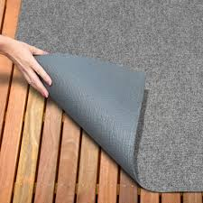 amazon house home and more indoor outdoor carpet with rubber marine backing gray 6 x 15 several carpet flooring for patio porch deck boat
