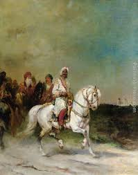 james alexander walker a maharaja on a white horse