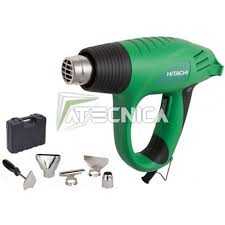 hitachi gun. heat gun hitachi rh600t da 2.000 w with kit accessories in case