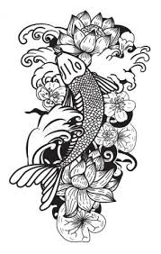 koi coloring carp