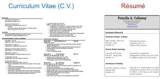 cv vs resume. Difference ...