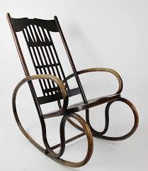 austrian vienna jugendstil art deco gustav siegel thonet rocking chair