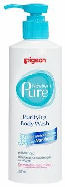 Pigeon Newborn Pure <b>Нежный гель для</b> купания — купить по ...