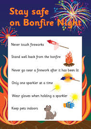 fire works safety fireworks safety poster free early years primary teaching