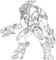 Spartan Coloring Pages Timely Halo Master Chief Printable Superhero