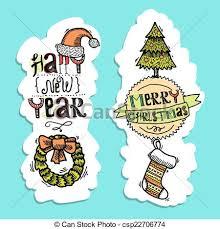 vintage happy new year banner clip art. Christmas Vertical Banners For Vintage Happy New Year Banner Clip Art