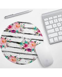 cute office desk. Plain Cute Pink Floral Mouse Pad Mousepad Girly Flowers Mat Cute Office With Office Desk R