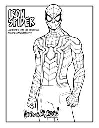 Aos ghost rider (reyes), spaceknight venom, gotg 1 gamora, ragnarok. Spider Man Infinity War Coloring Pages Page 1 Line 17qq Com