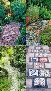 Colorful Garden Path  MOSAIC δάπεδα σε εσωτεξωτχώρουςσε Mosaic Garden Path