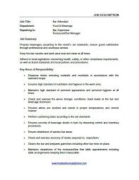 Job Descriptions Food And Beverage Trainer With Interesting Food And