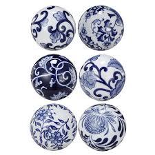 Decorator Balls Adorable Blue White 32 Decorator Balls