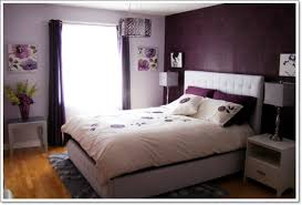 purple modern bedroom designs. Bedroom:Amazing Purple Bedroom With Modern Bed Also White Pillows And Small Brown Bamboo Designs