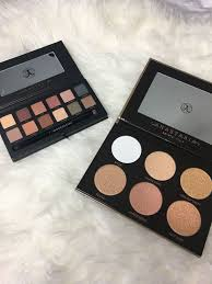 anastasia beverly hills makeup by mario palette and ultimate glow kit