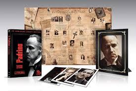 BRANDO,PACINO,DE NIRO,KEATON D.,GARCIA,CASTELLANO,DUVALL - IL PADRINO -  CORLEONE LEGACY LIM.EDIT. BOX 4 BR 4 BLU-RAY: Amazon.de: DVD & Blu-ray