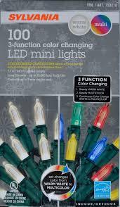 Sylvania Christmas Lights 3 Function Color Changing Upc 883624475795 Sylvania Christmas Lights 3 Function