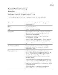 Series A Term Sheet Template