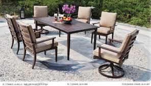 patio furniture cast aluminum garden