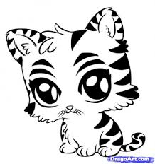 Small Picture Tigers Coloring Pages Miakenasnet