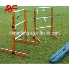 Wooden Ladder Ball Game Unique Oem Ladder Golf SetsWooden Ladder Toss Game Buy Miniature Golf