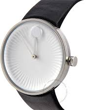 movado men s watch silver toned aluminum dial swiss quartz 3680001 movado edge silver toned aluminum dial swiss quartz mens watch 3680001