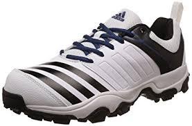 adidas mens trainers. adidas men\u0027s 22 yards trainer 17 ftwwht, cblack and mysblu cricket shoes - 10 uk mens trainers