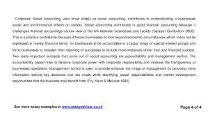 essay advisor essay example on corporate social responsibility corporate social accounting