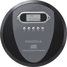 insignia portable cd player black charcoal