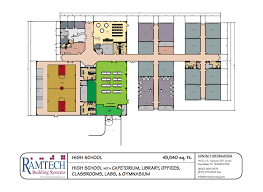 Big Lake High School Cafeteria Floor Plan And Schedules  The Cafeteria Floor Plan