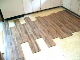 laying vinyl tile on concrete over floor how to lay tiles uneven