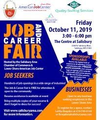 Flyer Jobs Job Career Fair_2019 Flyer Web Delmarva Business Directory