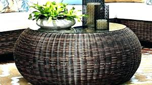rattan and glass coffee table wicker trunk coffee table large wicker coffee table wicker and glass
