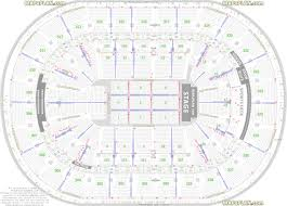 Air Canada Seating Chart With Seat Numbers True Air Canada Centre Detailed Seating Chart Concert Td