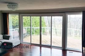 exterior glass patio sliding doors in