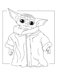 Everything you want to know about printable coloring pages for children is here! Baby Yoda Coloring Pages Coloring Rocks