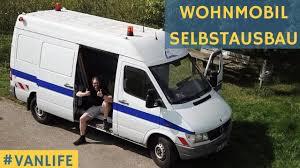 Sprinter Wohnmobil Ausbau Kastenwagen Wird Zum Campervan Umgebaut