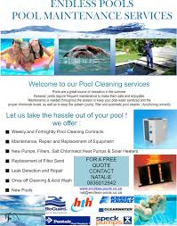 Services Brochure - Endless-Pools